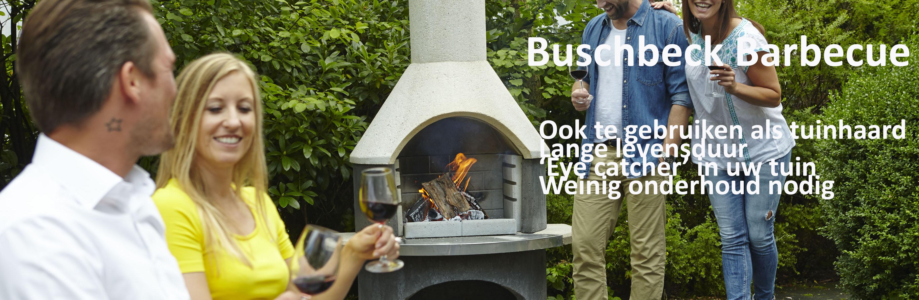 Buschbeck barbecue en tuinhaard