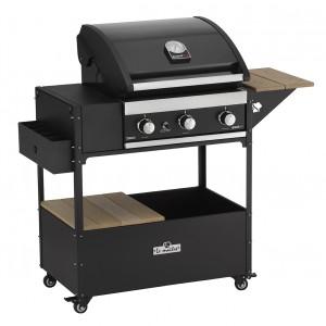 Le Maître BBQ tafel met Grandhall Premium G3
