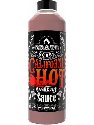 Grate Goods California Hot Barbecue Saus