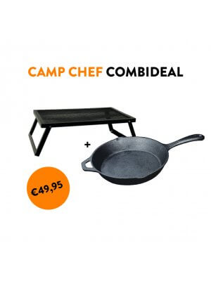 Camp Chef Over the Fire + Skillet