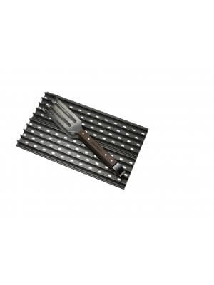 GrillGrate Set - Twee 40cm BBQ Roosters Inclusief GrateTool