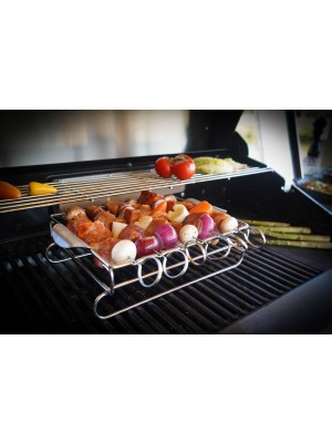 Grand Hall Shish Kebab & Rib Rack Set