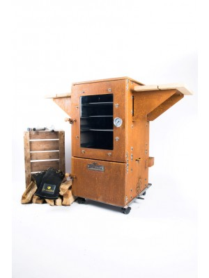 Le Maître Tuinhaard/Multioven & Smoker Iron Brown