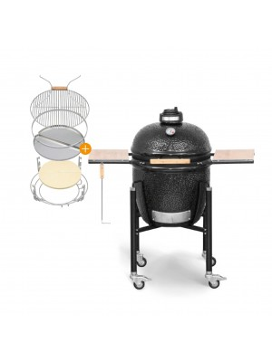 Monolith Basic PLUS Black Kamado BBQ