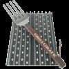 Grill Grate Kit - Twee 35cm Panelen Inclusief GrateTool
