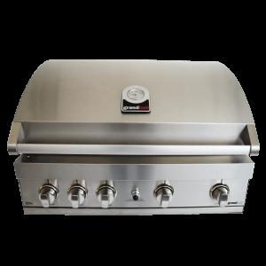 Elite gt4 built-in barbecue