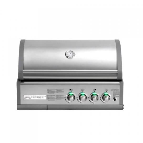 Crossray+ by Heatstrip inbouw barbecue