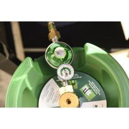Gaskoppeling met gaslekdetectie