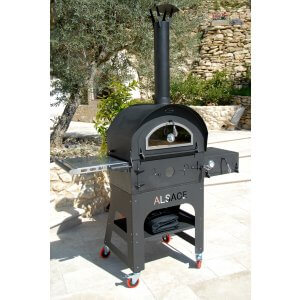 Alsace Artisan Hout Gestookte Buitenoven / Pizza Oven