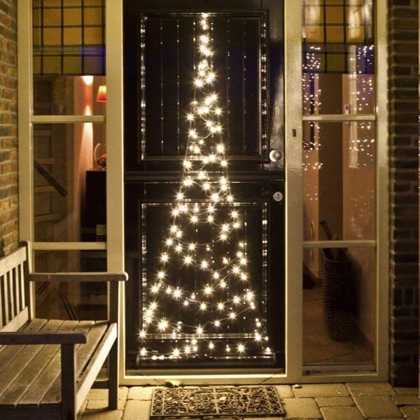 Fairybell Deurverlichting Kerstboom 210cm 120 Lampjes Roost