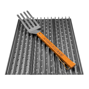 GrillGrate kit - Drie 44cm panelen inclusief GrateTool