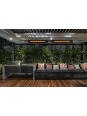 HEATSTRIP Intense elektrische terrasverwarming 2200 watt