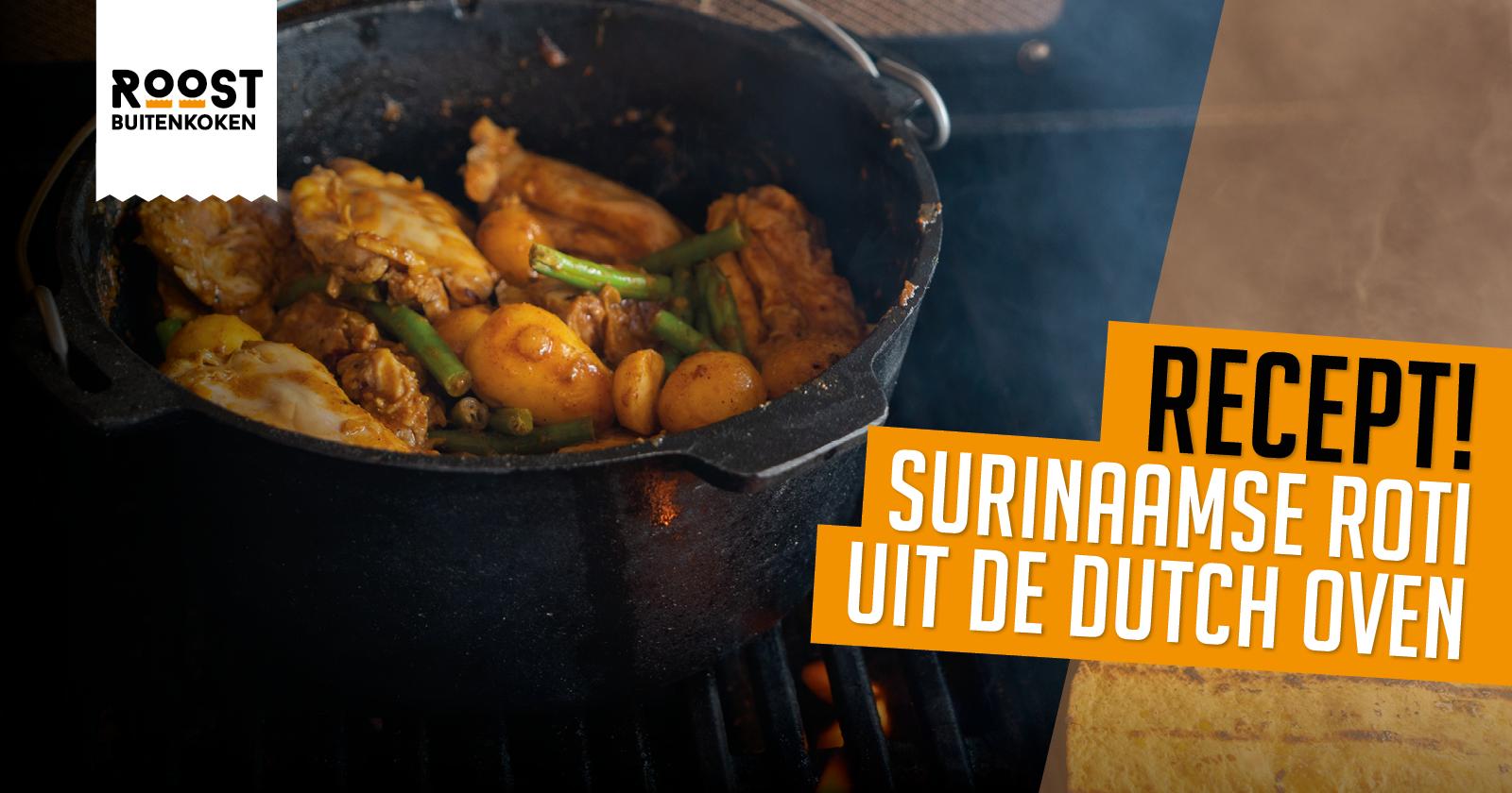 Recept: Surinaamse BBQ Roti